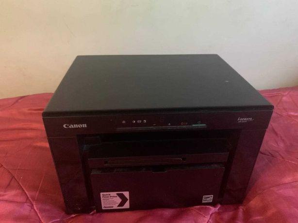 Принтер - сканер Canon MF3010 + новый кабель питания и шнур USB