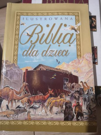 Ilustrowana Biblia dla dzieci książka