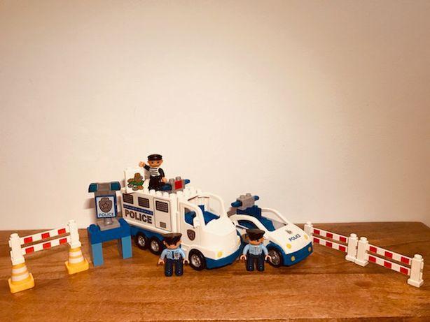 LEGO duplo zestaw policyjny
