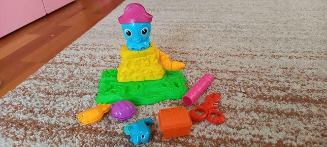 Zestaw kreatywny ośmiornica play doh dla dziecka chlopca dziewczynki