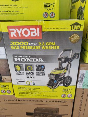 Myjka cisnieniowa spalinowa Ryobi silnik Honda 206 bar