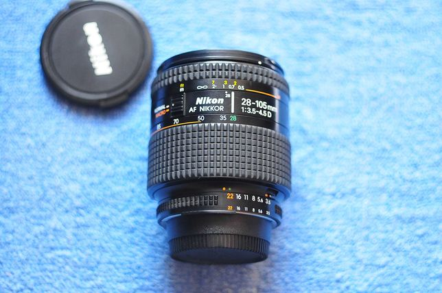 Nikon AF NIKKOR 28-105mm 3.4-4.5D (Macro)