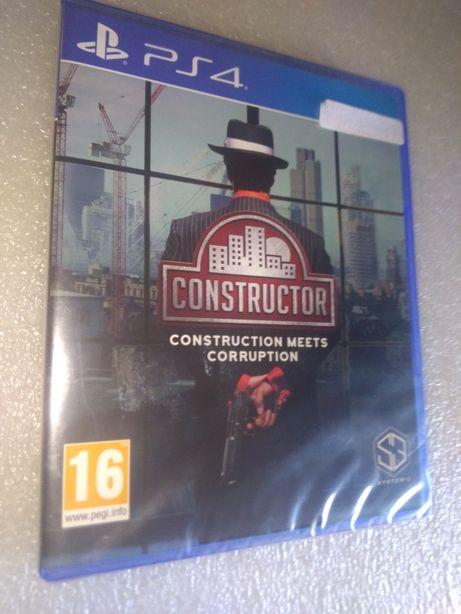 Jogo PlayStation 4 Selado Constructor - PS4