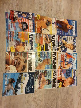 Czasopismo pływanie stare wydania! 12 szt.