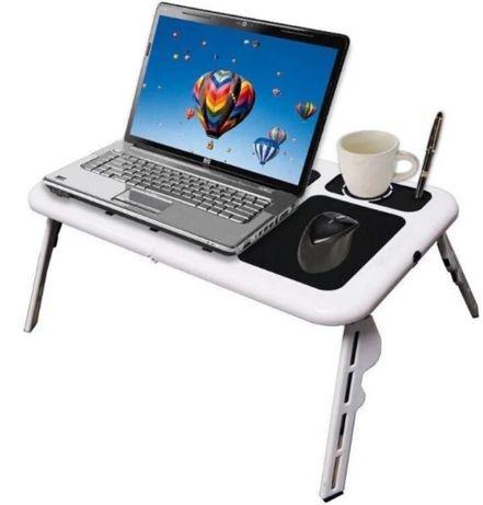 Стіл підставка з охолодженням для ноутбука