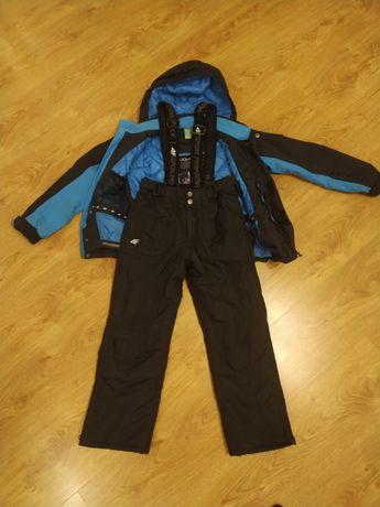 Kurtka i spodnie narciarskie 4F rozmiar 134