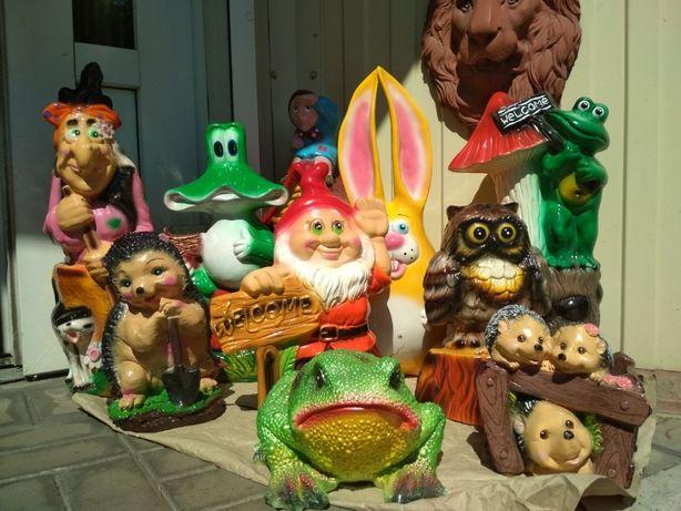 Детский и взрослый уличный декор,статуэтки,фигуры.Звери,гриб. Новые!!!