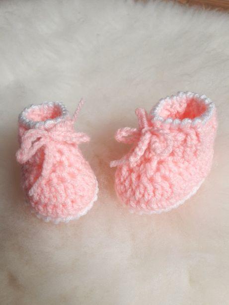 Kapcie dla noworodka