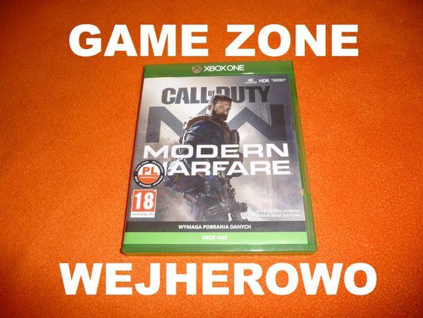 Call of Duty Modern Warfare Xbox One + S + X = PŁYTA PL Wejherowo