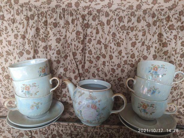 Сервиз чайный полонский фарфор