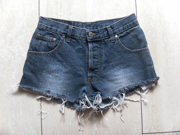 Krótkie spodenki szorty jeansy Pako Jeans 34,XS/36,S dżinsy