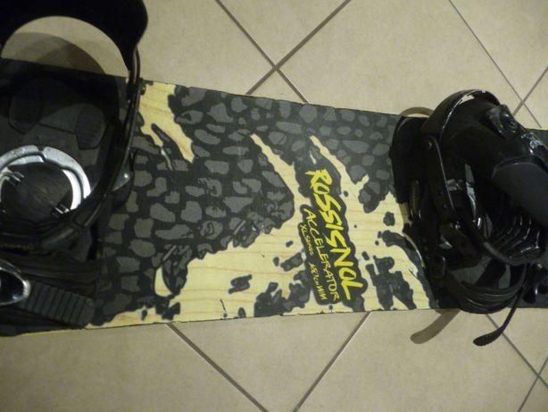Używana deska snowboardowa Rossignol Accelerator + wiąznia dł 150