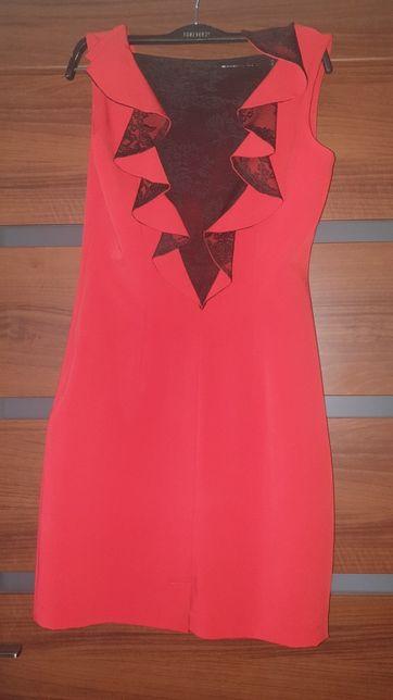 Sukienka czerwona R. 36