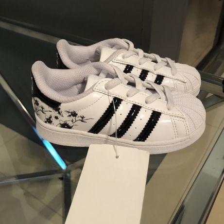 Oryginalne Super stars Adidas r.24 wkladka 15 cm nowe