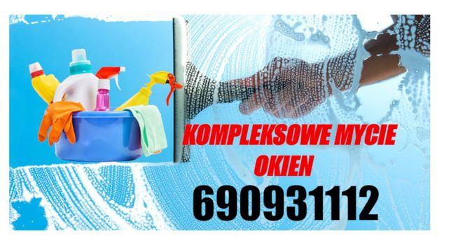 Sprzątanie mieszkań i mycie okien