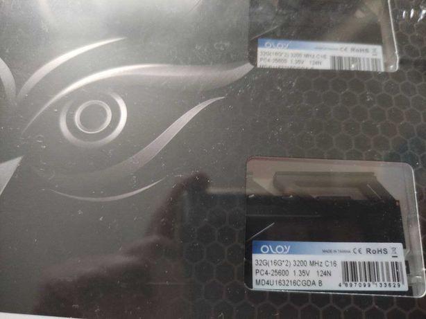 DDR4 16GB X 2 (32GB kit) Oloy 3200 MHz CL16
