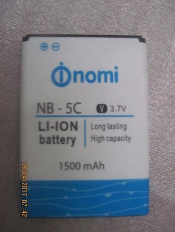nomi-5c батарея