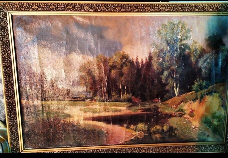 Старинная картина Донецк - изображение 1