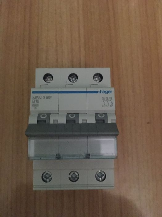 Автоматический выключатель Hager MBN 316E 3P B1 Христиновка - изображение 1