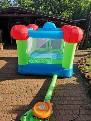 Zestaw dla dziecka ogrodowy zjeżdżalnia domek zamek dmuchany zabawki