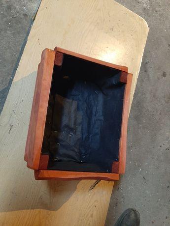 Doniczka donica drewniana ogrodowa prostokątna 47x37cm
