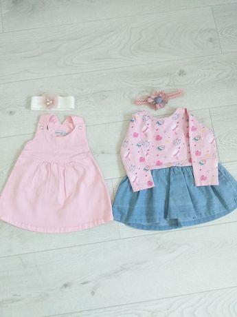 Sukienki Reserved i 5.10.15. rozmiar 74