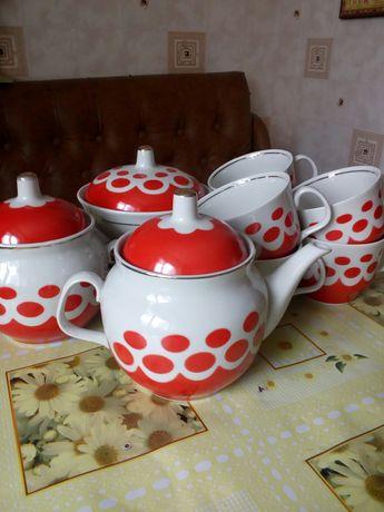 Чайные сервизы новые, на 6 персон