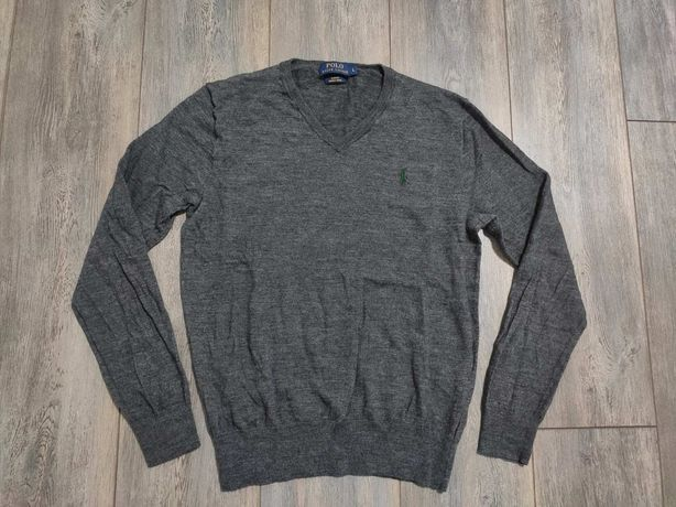 Мужская Кофта пуловер Polo Ralph Lauren Jumper Slim Fit In Merino Wo