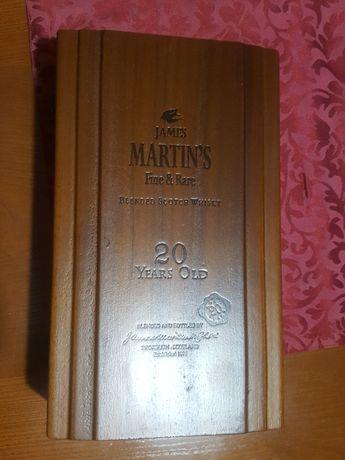Caixa de madeira Whisky James Martin's 20 Years
