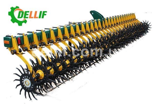 Ротационная борона Dellif Белла 6 м ( 29 рабочих органа) Ноу Хау