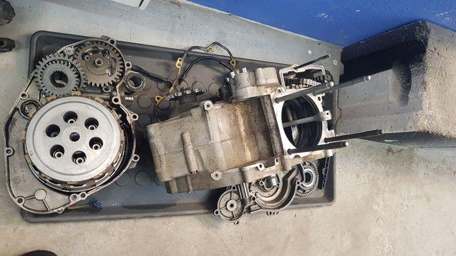 08 KTM 450 SXF Silniki na części. Wał, skrzynia, kartery, sprzęgło