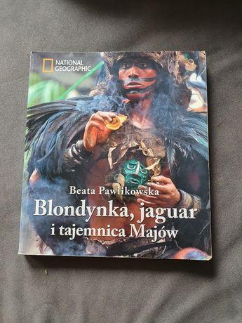 Beata Pawlikowska Blondynka,  jaguar i tajemnica Majów
