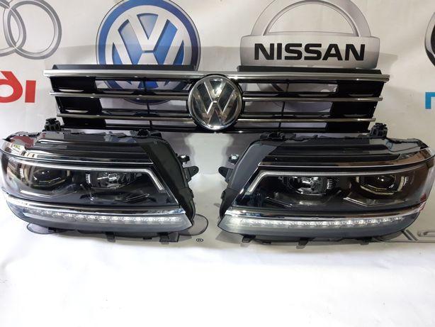 Фара Ксенон Volkswagen Tiguan Тигуан Фары Фул лед Фольксваген Тигуан