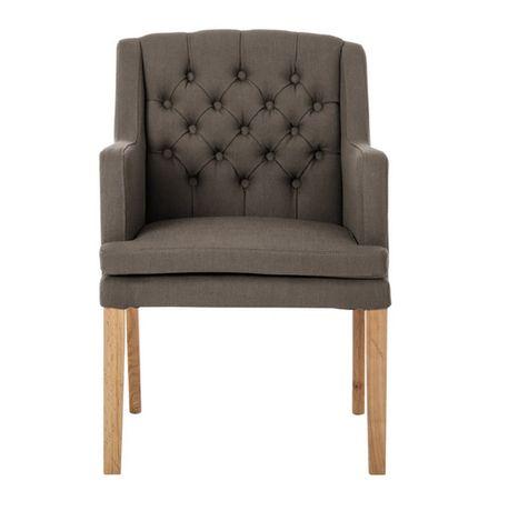Krzesło tapicerowane do salonu gabinetu Austin M019