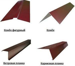 Изготовления кровельных комплектующих коньки ветровые планки