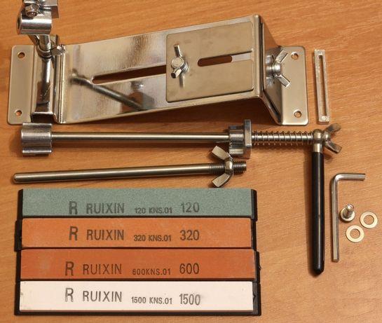 Точилка для ножей Ruixin Pro III, профессиональная с 4 камнями