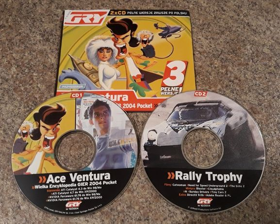 Ace Ventura + Rally Trophy PC PL