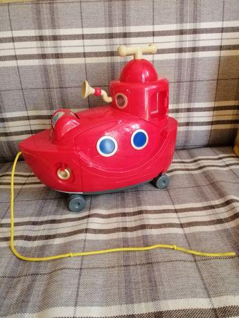 Большая подводная лодка каталка домик