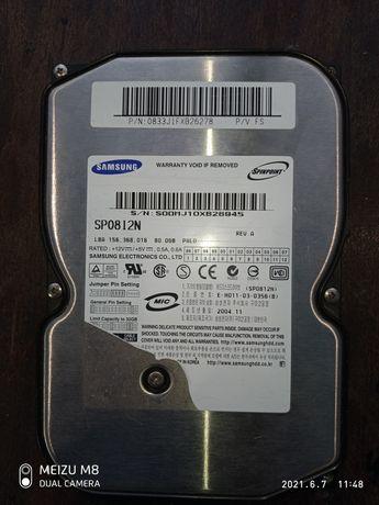 Жёсткий диск 80Gb