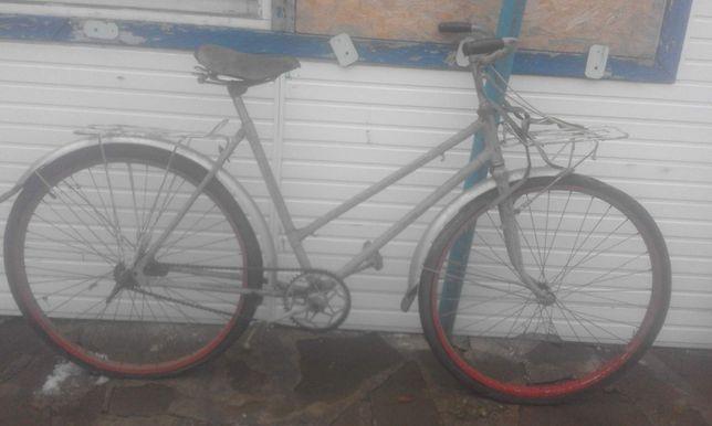 Велосипед взрослый женский 2-ая рама