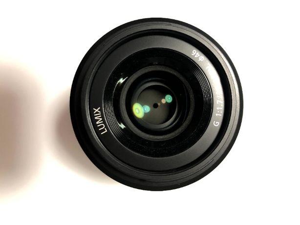 Panasonic 25 mm f/1.7 Asph Lumix G H-H025