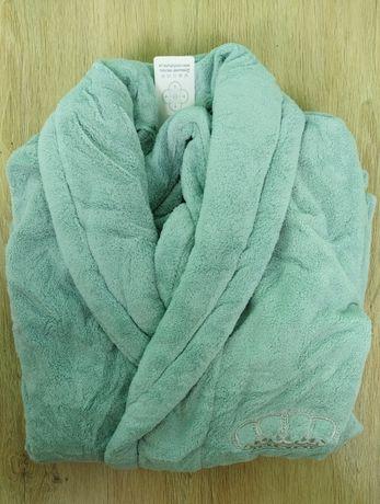 Жіночий халат з мікрофібри