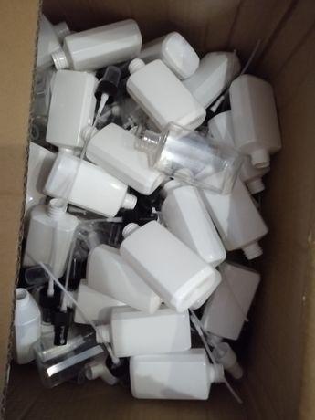 Флаконы пластиковые