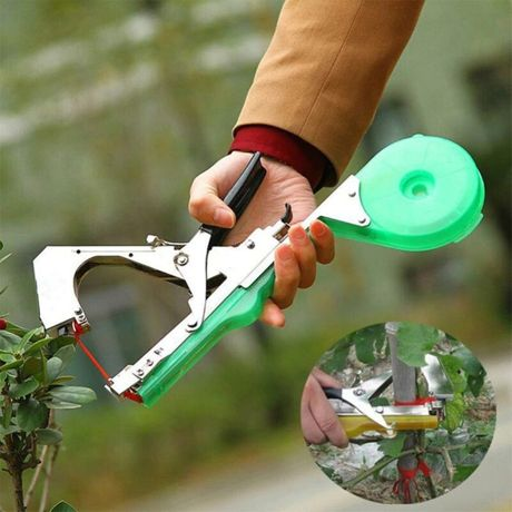 Тапенер - садовый инструмент подвязки веток растений Степлер винограда