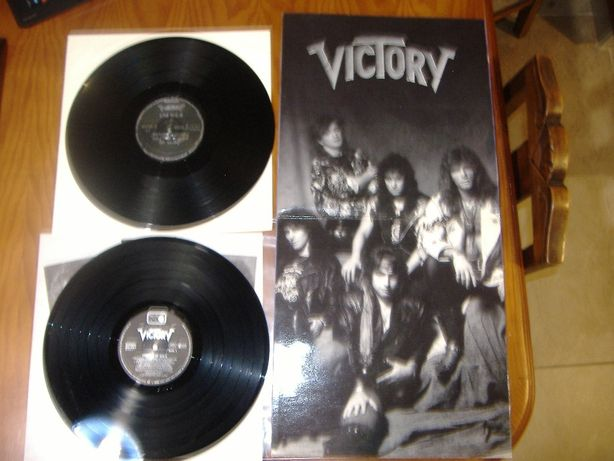 VICTORY – Temples of Gold LP 1990 – Heavy Metal