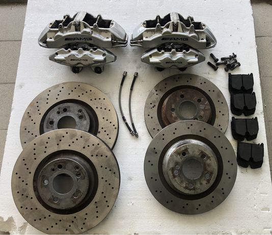 Продам комплект тормозов AMG на W211,W221,W216,W218,W219