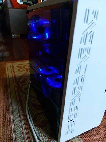 Pc Gaming Leds Azuis - Processador i5-4460 - Gráfica Asus GTX 750 TI