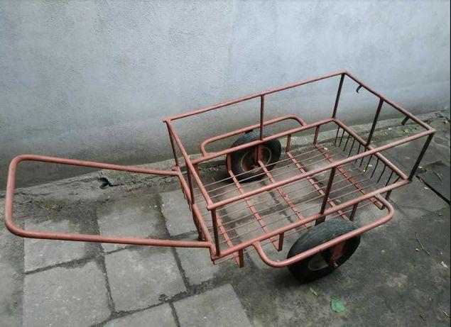 Wózek gospodarczy - solidna konstrukcja