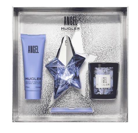 Angel Thierry Mugler, оригинал (набор: парфюм, лосьон, свеча)