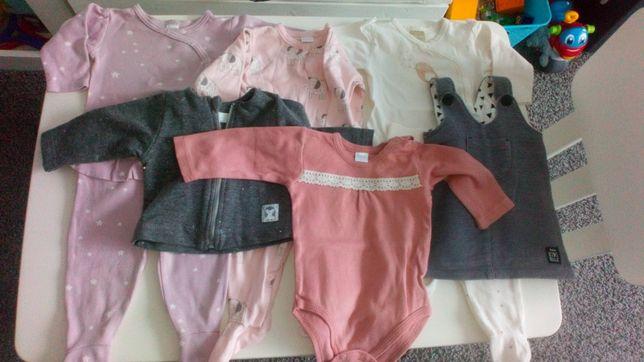 Paka ubrań dla dziewczynki PINOKIO ,rozmiar 62
